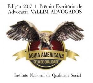 VALLIM ADVOGADOS PREMIO QUALIDADE NACIONAL 2017